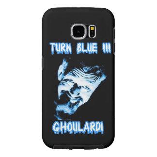 Ghoulardi (回転青) Samsungの銀河系S6の箱 Samsung Galaxy S6 ケース