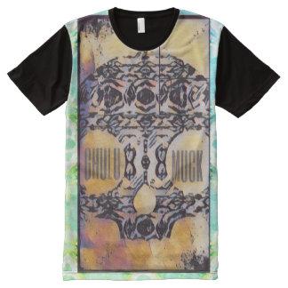 GhuluMuckのデザイン オールオーバープリントT シャツ