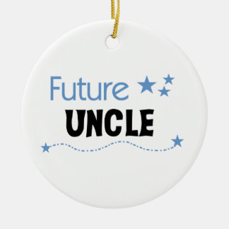 Gifts未来の叔父さん セラミックオーナメント
