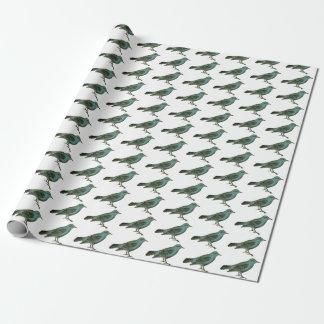 Giftwrap:  幸福のブルーバード ラッピングペーパー
