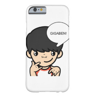 Gigabenの漫画のiphone 6 (前に順序) barely there iPhone 6 ケース