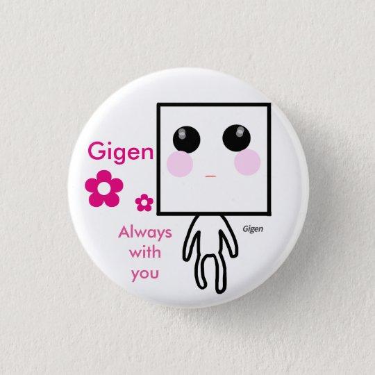 Gigen いつも一緒缶バッジ 缶バッジ