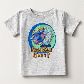 GiggleBellies Bah Bahベティヒツジ ベビーTシャツ