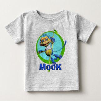 GiggleBellies Mook猿 ベビーTシャツ
