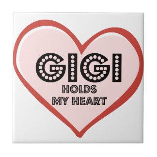 Gigiのベビーの衣服およびギフト タイル