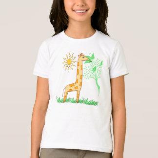 Gigiキリンのかわいい子供のTシャツ Tシャツ