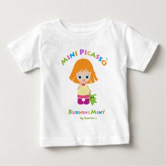 Gigi及びMimi shirt_Mini BurningMint.png ベビーTシャツ
