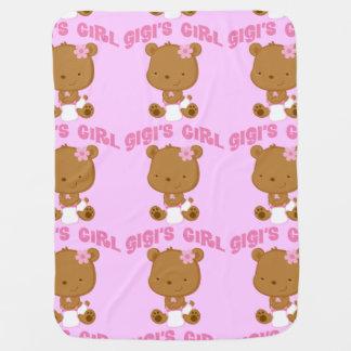 Gigisの女の子 ベビー ブランケット
