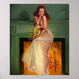 GIL ELVGRENの芸術の上の薄い歓喜Pin ポスター