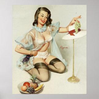 GIL ELVGRENの芸術の上の風雅なデザインPin ポスター