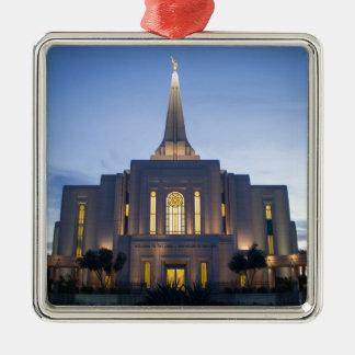GIlbertアリゾナLDSの寺院 メタルオーナメント