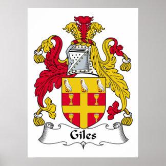 Gilesの家紋 ポスター