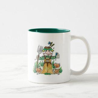 Giles農家 ツートーンマグカップ