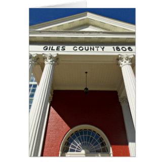 Giles郡の裁判所 カード