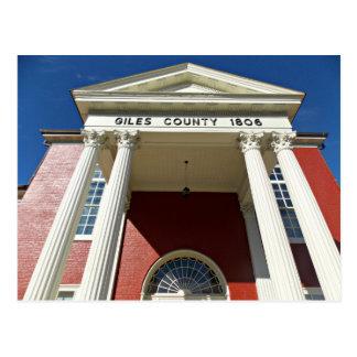 Giles郡の裁判所 ポストカード