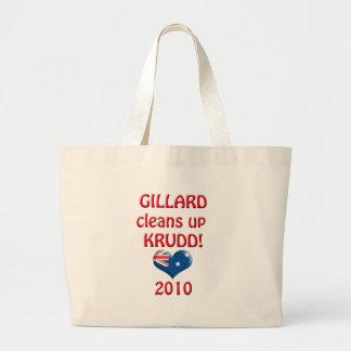 GILLARDはKRUDDをきれいにします! ラージトートバッグ