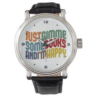 Gimmeは読書を予約します 腕時計
