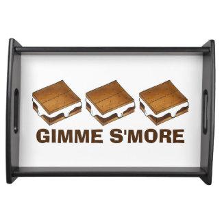 Gimme SmoreチョコレートS'moresのトレイ トレー
