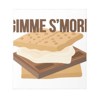 Gimme Smore ノートパッド
