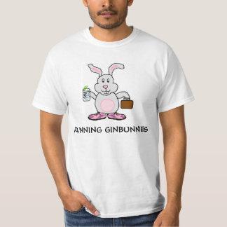 Ginbunniesを走ること Tシャツ