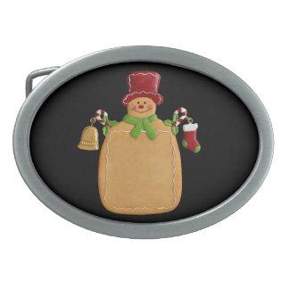 Ginerbreadの人の楕円形のベルトの留め金 卵形バックル