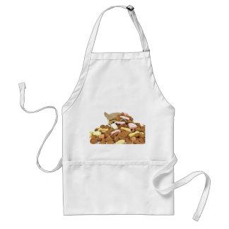 Gingernutsおよび菓子のエプロン スタンダードエプロン