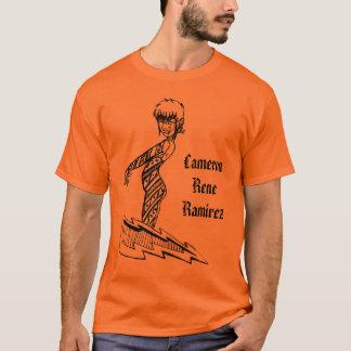 Ginny Spacesandのボルト、CameronReneRamirez Tシャツ