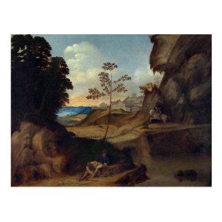 Giorgioneの芸術 ポストカード