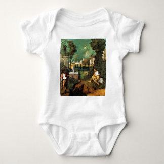 Giorgione暴風雨 ベビーボディスーツ