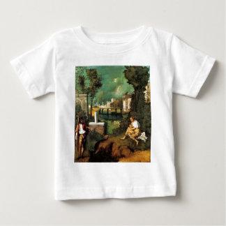 Giorgione暴風雨 ベビーTシャツ