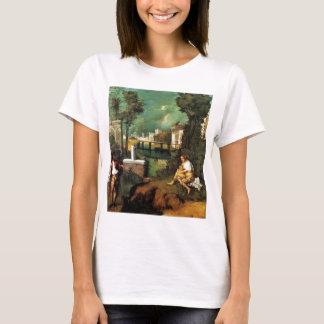 Giorgione暴風雨 Tシャツ