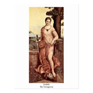 Giorgione著ジュディス ポストカード