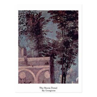 Giorgione著嵐の詳細 ポストカード