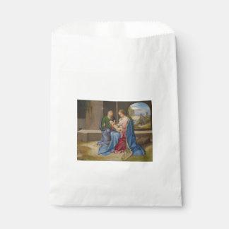 Giorgione著神聖な家族 フェイバーバッグ