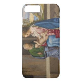 Giorgione著神聖な家族 iPhone 8 Plus/7 Plusケース