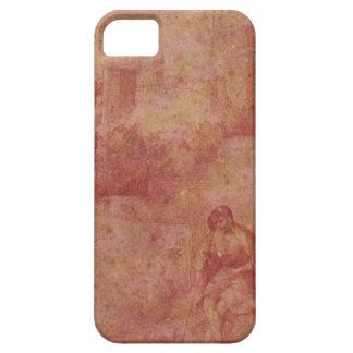 Giorgione著Castelfrancoそして羊飼いの眺め iPhone SE/5/5s ケース