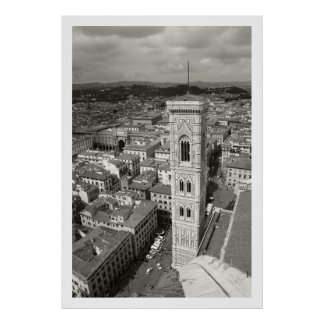 GiottoのBelltower ポスター