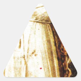 Giotto著憤り 三角形シール