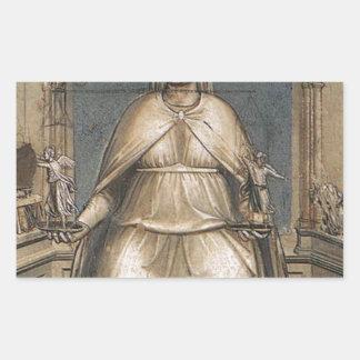 Giotto著正義 長方形シール