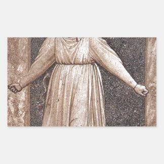 Giotto著破れかぶれ 長方形シール