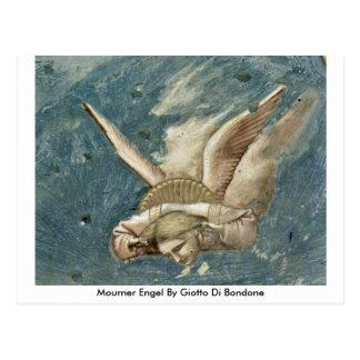 Giotto Di Bondone著哀悼者Engel ポストカード