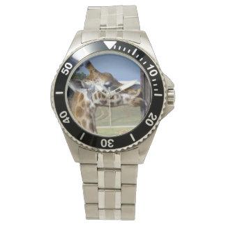 Giraffe_Kissesの_Wristwatch 腕時計