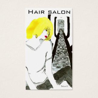 Girl of yellow hair 名刺