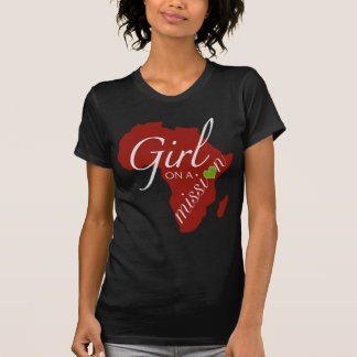 Girl on a Mission - Africa Tシャツ
