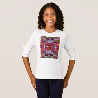 Girls' Basic Long Sleeve T-Shirt Tシャツ