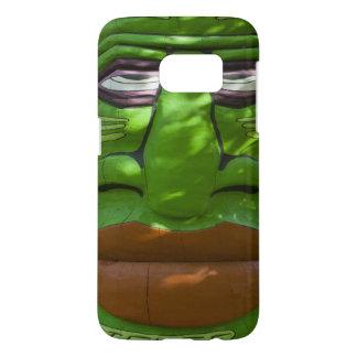 Gitchee緑のGoomeeのトーテム Samsung Galaxy S7 ケース
