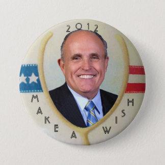 Giulianiの2012年のウィッシュポーンボタン 缶バッジ