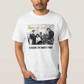 giv_2の溝のGivバンドのボーカリストに溝を作って下さい Tシャツ