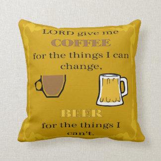 Give Coffee、ビールおよびワイン主 クッション
