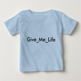 Give_Me_Lifeの男の子のワイシャツ ベビーTシャツ